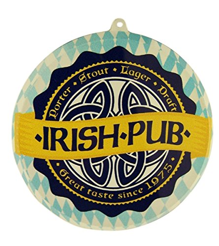 - Grimm Irish Pub Decorative Acrylic Suncatcher Window Ornament, 3 1/2 Inch
