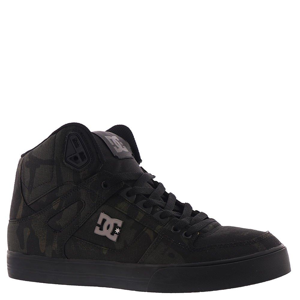 DC Men's Pure High-Top Wc Tx Se Skate Shoe 7.5 D D US|Camo