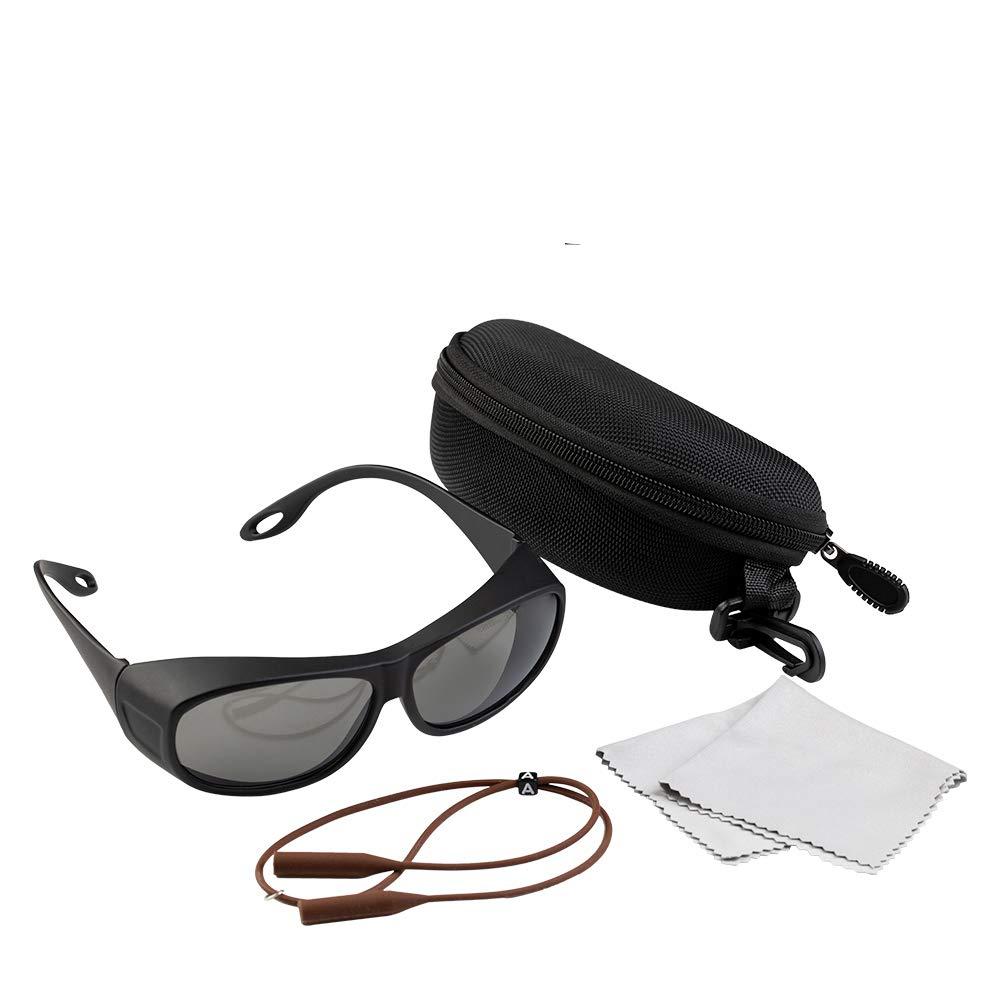 Cloudray 10600nm Gafas de seguridad láser OD4 + CE Gafas protectoras para CO2 Máquina de grabado láser de corte Estilo C