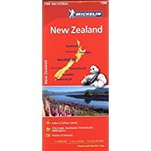 Michelin New Zealand Map 790