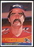 Baseball MLB 1984 Donruss #526 Dennis Lamp White Sox