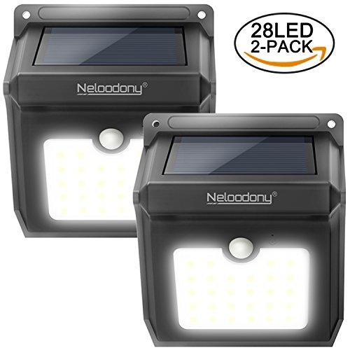 Motion Sensor Solar Pathway Lights - 5