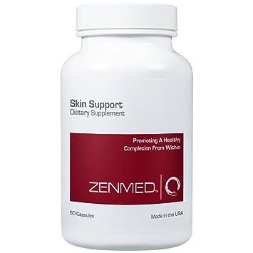 Amazon.com: zenmed Piel Apoyo Suplemento, mejor Tratamiento ...