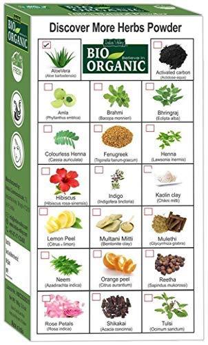 Polvo orgánico natural puro de Vera del áloe con el libro ...