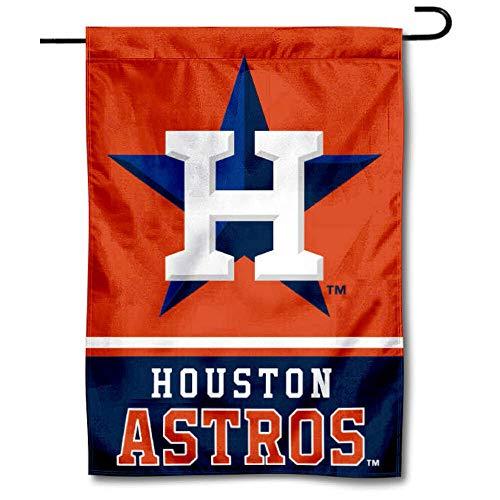(WinCraft Houston Astros Double Sided Garden Flag)