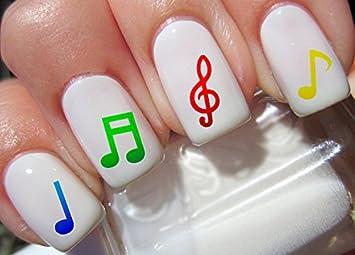 Amazon 80 Music Note Nail Decal Musical Notes Nail Design Beauty