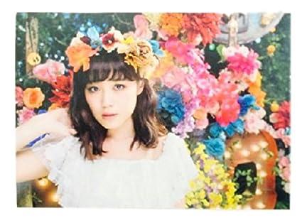 FLOWER ポストカード 鷲尾伶菜 花時計 購入特典 E,girls EXILE