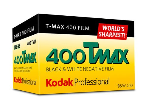 Kodak 262062 400 Tmax Professional Black and White Film ISO 400, 35mm, 24 Exposures