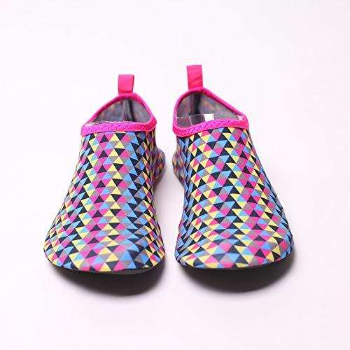 sandales Chaussettes De Printemps Le Femmes Rose Chaussures Sable Pieds Yoga Witsaye Nautiques Chaud Eau Plage À Été Sous Natation Et Sports Mode Nus La dXxZaq