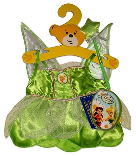 Used, Build a Bear Tinkerbell 2pc. Costume Dress Teddy Stuffed for sale  Delivered anywhere in USA