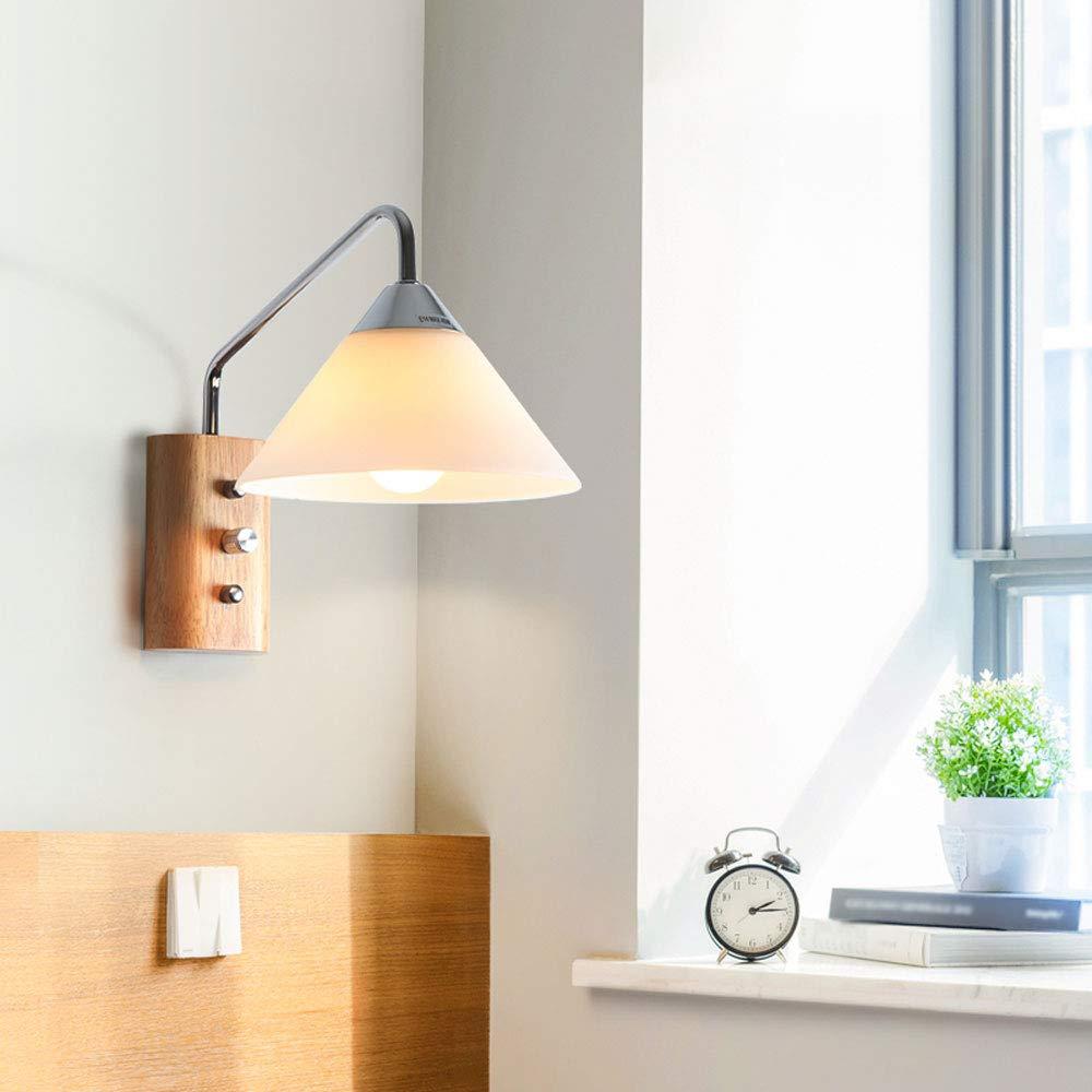 Amazon.com: Sharon Nordic Style Wooden Creative Wall Lamp ...