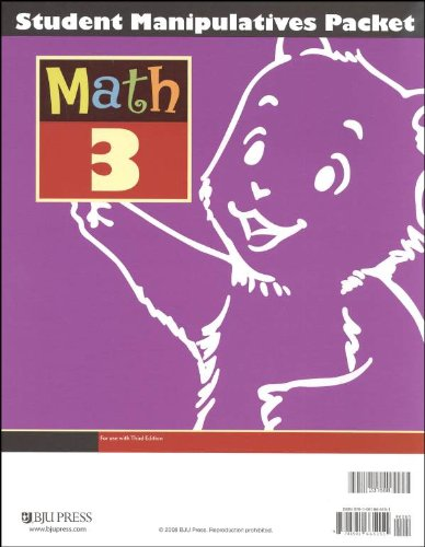 Math 3 Student Manipulative Packet 3rd Edition