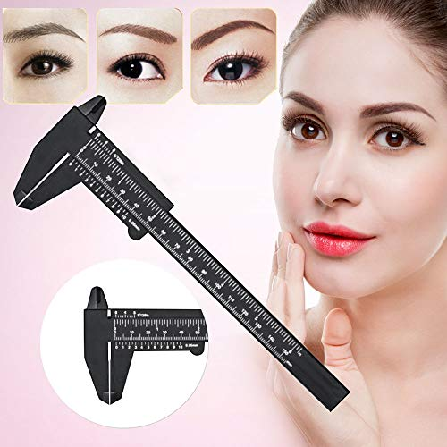 Tattoo Clearance , 1PC Microblading Reusable Makeup Measure Eyebrow Guide Ruler Permanent Tools  by Little -