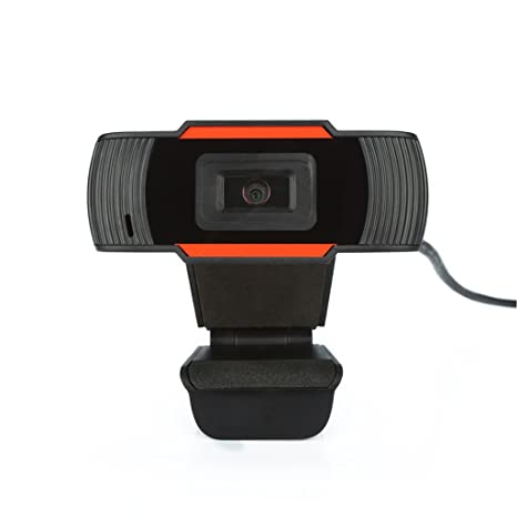 Alta Definición micrófono integrado microesferas la cámara ordenador para General escritorio, portátil, LCD naranja