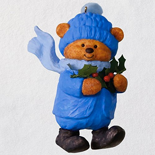 Hallmark Keepsake Christmas Ornament 2018 Year Dated, Mary Hamilton's Bears Bough of Holly