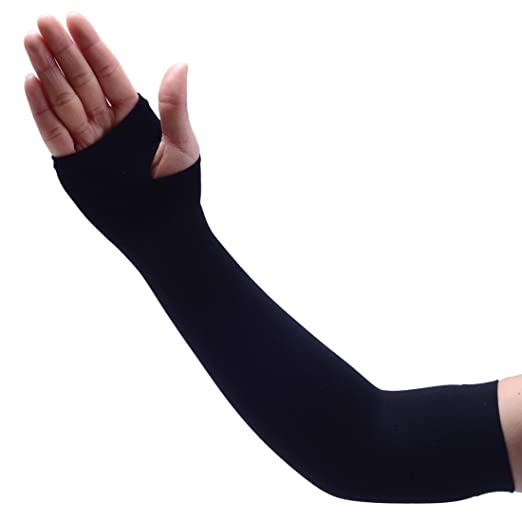 7f0ea8ee6d Agepoch Cooling Arm Sleeves UV Sun Protection Sleeves with Hand Cover for  Men Women Cycling Running