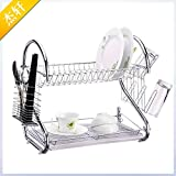 BGmdjcf Multifunction S Type Dish Rack Mobile
