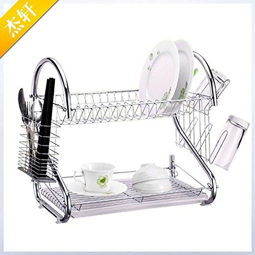 BGmdjcf Multifunction S Type Dish Rack Mobile
