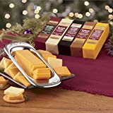 5-Piece Gift Box Cheese Bars with Slicer from The Swiss Colony