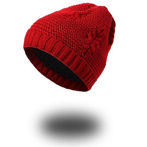 sombreros MASTER Halloween tejer beanie Invierno sombreros sombreros gris Señoras tejidos cálido Otoño Red Navidad rrAxvn