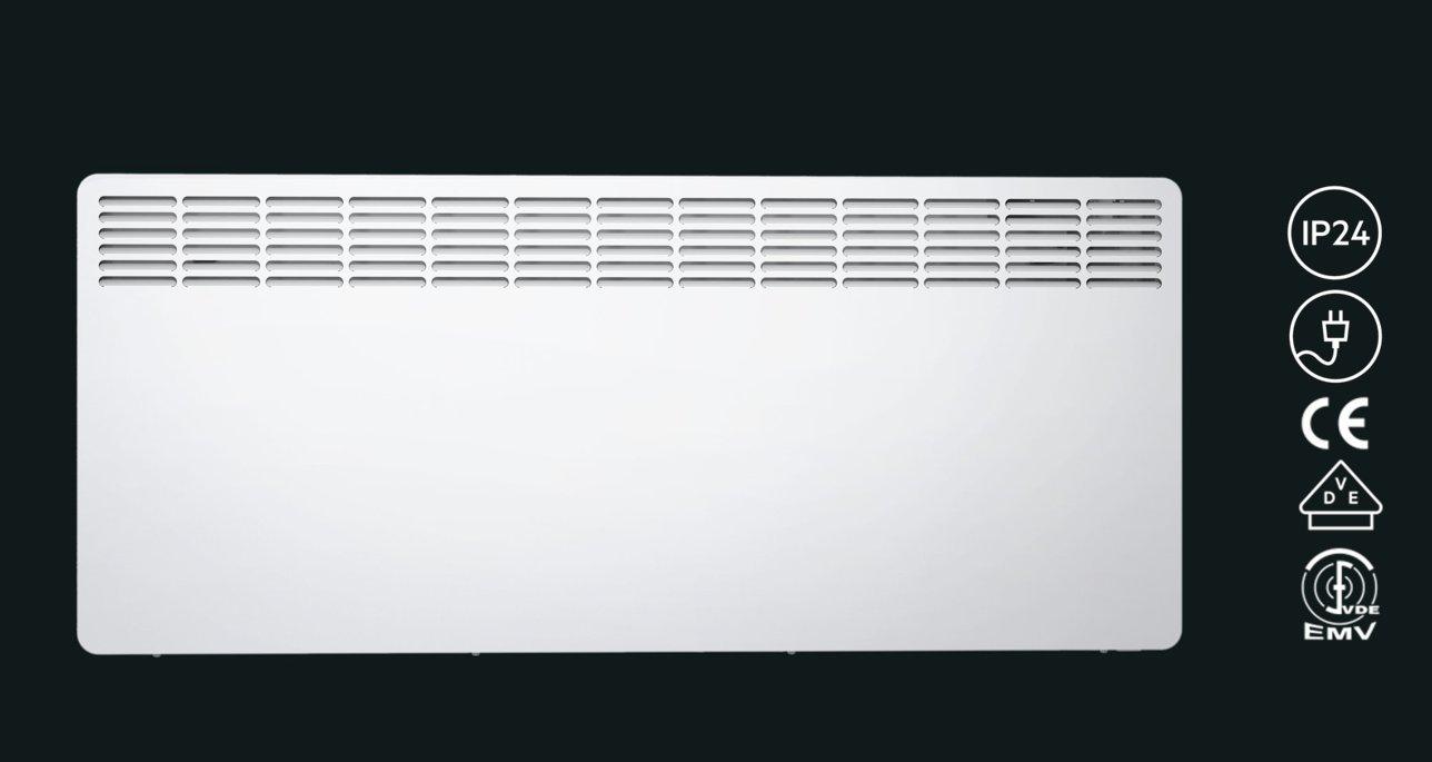 236535 blanc Convecteur mural AEG