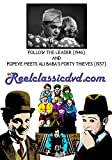 FOLLOW THE LEADER (1946) and POPEYE MEETS ALI BABA'S FORTY THIEVES (1937)