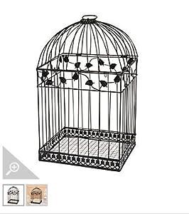 Black Metal Wedding Bird Cage Card Holder Beautiful Wedding Reception Piece!!
