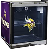 Glaros Officially Licensed NFL Beverage Center / Refrigerator - Minnesota Vikings