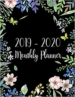 2019 2020 monthly planner two year monthly calendar planner 24 months jan 2019 to dec 2020 for academic agenda schedule organizer logbook and monthly calendar planner 85 x 11 volume 1