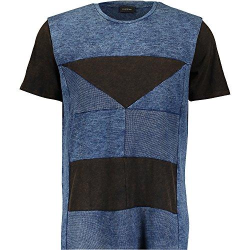 Diesel T-Joe-BJ 01 Herren T-Shirt Blau