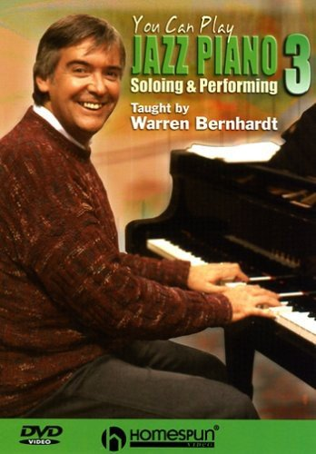 DVD-You Can Play Jazz Piano #3-Soloing & Performing