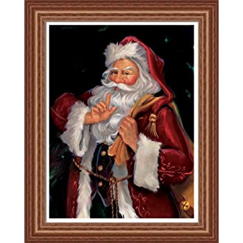 Amazon Com Old St Nick Santa Clause Christmas Picture