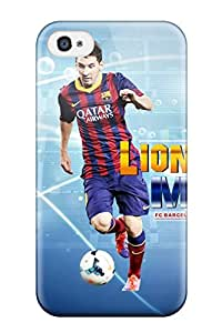 Hot GMbCODd6056DHksB Lionel Messi Barcelona 2014 Tpu Case Cover Compatible With Iphone 4/4s
