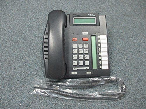 Nortel Norstar T7208 Charcoal 8 Button Display Speaker Telephone NT8B26AABL -
