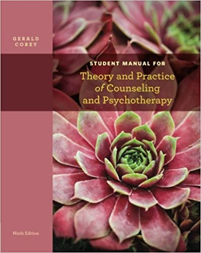 Amazon.com: Student Manual for Corey's Theory and Practice of ...