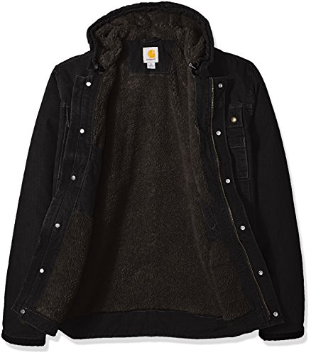 Carhartt Men's Big & Tall Bartlett Jacket, Black, 3X-Large/Tall by Carhartt (Image #3)