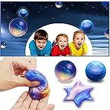 Rihachan Fluffy Slime - Galaxy Egg Slime Floam