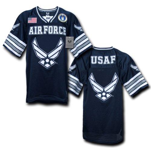 - Rapiddominance Air Force Football Jersey, Navy, XX-Large