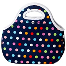 Tone lunch bag navy dot 881 041 (japan import)