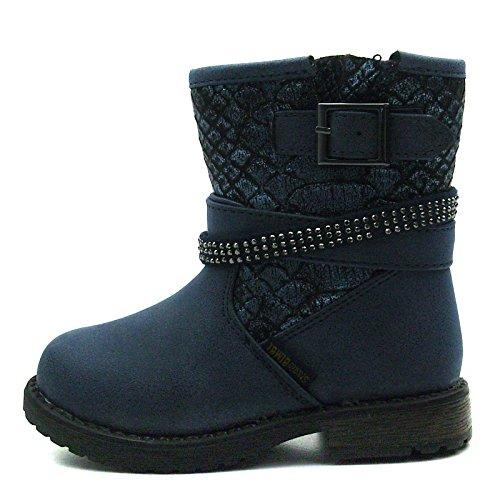 Mi W Sb172 Bottes gt; For zip Pour Girls Bébé mollet Studio Baby Blue gt; bleu Mid Boots W Calf Filles Zip Les Bimbi qr6A4qaw