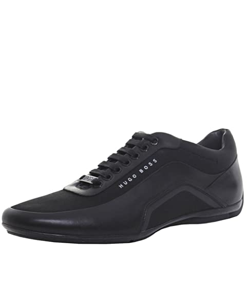 d12b734ee51 BOSS Hugo Boss Men s HB Racing Trainers US 8 Black  Amazon.ca  Shoes    Handbags