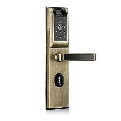 Cerraduras Biométricas De La Huella Dactilar, Contraseña / Bluetooth / Tarjeta De Proximidad / APP
