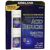 Kirkland Signature Maximum Strength Acid reducer Ranitidine tablets USP 150MG 95 Tablets 2-Count 190 Total tablets.