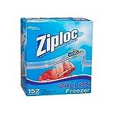 5 Wholesale Lots Ziploc Freezer Gallon Storage Bags Double Zipper Storage Bags, 760 Bags Total