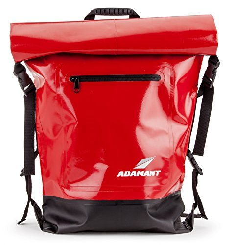 Adamant - X-Core Waterproof Dry Bag Backpack, Red by Adamant