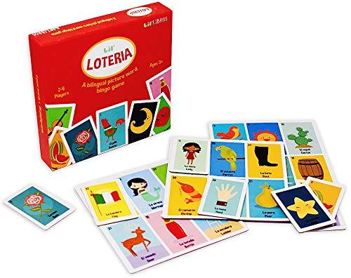 Loteria Game - Lil' Loteria: A Lil' Libros Bilingual Bingo Game (English and Spanish Edition)