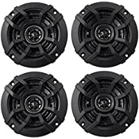 Kicker CS Series 4 Coaxial EVC 2 Way 600 Watt Car Speakers 43CSC44 (4 Speakers)