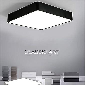 Plafones LED de techo con luces cuadradas ultrafinas para lámparas ...
