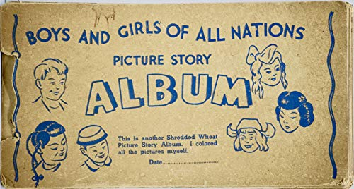 1939 - Nabisco/Shredded Wheat - Boys And Girls Of All for sale  Delivered anywhere in USA