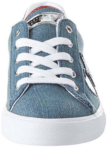 Guess Footwear Active Lady, Baskets Femme Bleu (Blue Blue)